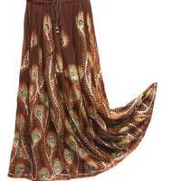 $14.99 BombayFashions 'LOWEST PRICE Guaranteed!' DISCOUNTED Full/Ankle Length UNLINED 'Peacock...