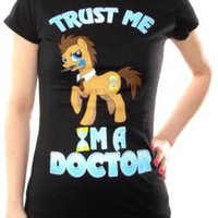 Brony Girls T-Shirt - Trust The Doctor