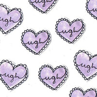 UGH - Love Heart Sticker Flakes