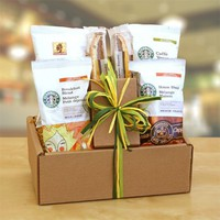 Gourmet Starbucks Coffee Gift Set | Starbucks Breakfast Blend, Caffe Verona, Sumatra Coffees Gift...