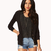 Essential V-Neck Cardigan | FOREVER 21 - 2042154003