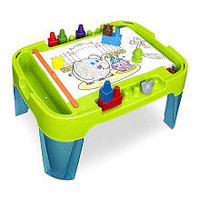 Imaginarium Safari Block Crayon Activity Table