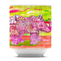 Catherine Holcombe &quot;Pretty in Pink&quot; Shower Curtain | KESS InHouse