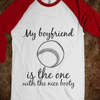 Baseball girlfriend Tee-shirt