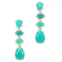 Spade Turquoise Earrings - Buy From ShopDesignSpark.com