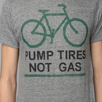 Pump Tires Not Gas Tee
