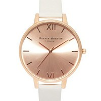 Olivia Burton Big Dial Rose Gold Watch at asos.com