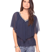 Flutter V-Neck Top | FOREVER21 - 2000031527