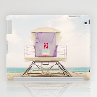 Lifeguard Tower 2  iPad Case by Bree Madden