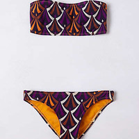 Anthropologie - Bantu Three-Strap Bandeau Bikini