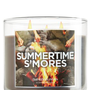 Summertime S&#x27;mores 14.5 oz. 3-Wick Candle   - Slatkin &amp; Co. - Bath &amp; Body Works