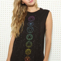 Truly Madly Deeply Cosmic Chakras Tank at Urban Outfitters