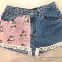 Ruffled Kitty Shorts