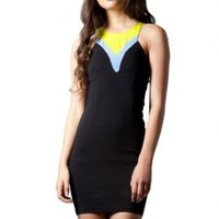 3 Tone Little Black Siren Dress