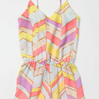 Summer Chevrons Romper