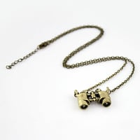 Gold Telescope Chain Necklace - Sheinside.com