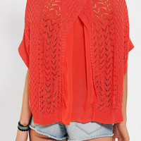 Kerisma Pixie Chiffon-Back Dolman Sweater