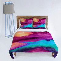 DENY Designs Home Accessories | Jacqueline Maldonado The Tide Duvet Cover