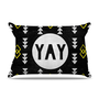 Skye Zambrana &quot;Yay&quot; Pillow Case | KESS InHouse