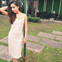 Ines Light Pink Cami Dress