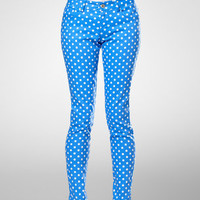 Dolce Vita Haya Polka Dot Skinny Jeans