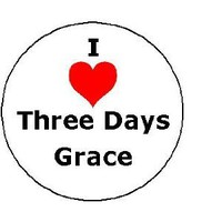 "Amazon.com: I Love THREE DAYS GRACE Pinback Button Heart Pin 1.25"" Alternative Hard Rock Band: Everything Else"
