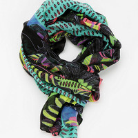 Deena &amp; Ozzy Oversized Tropical Scarf