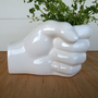 COOL MODERNIST CERAMIC Unique Vintage White by ACESFINDSVINTAGE