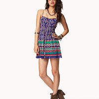 Boho Print Georgette Dress | FOREVER21 - 2042791386