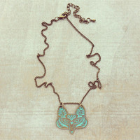 Pree Brulee - Mr. Fox Pendant Necklace