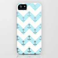 Anchors iPhone & iPod Case by Mercedes Lopez