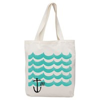 Made-By-You Waves + Anchor Tote