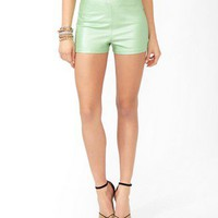 High-Waisted Hot Pants | FOREVER 21 - 2031557524