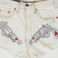 Custom vintage Levis pistol shorts size 8 from Vintage Child