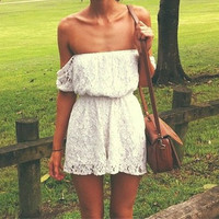 Coldshoulder Lace Dress