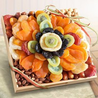 Tropical Flora Dried Fruit Tray Gift...