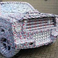 5000 Budweiser Beer Can Mustang ? Funny, Bizarre, Amazing Pictures & Videos