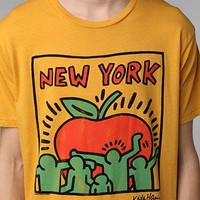 Junk Food Keith Haring New York Tee