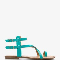 Faux Patent Leather Sandals | FOREVER 21 - 2027706210