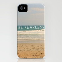 BE FEARLESS iPhone Case by Sarah Noga | Society6