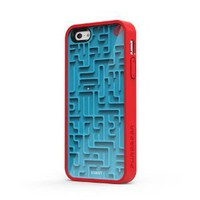 Puregear 60091PG Gamer Case for Apple iPhone 5 - 1 Pack - Retail Packaging - Blue/Red