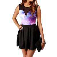 Pink Galaxy Bodysuit