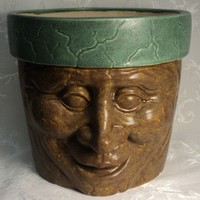 Funny Face Flower Pot 2 | theenchantedcandle - Novelty on ArtFire