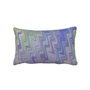 Waves of Green and Purple Pillows from Zazzle.com