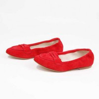 Rosso Penny Loafer