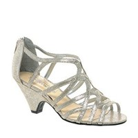 New Look Sun Low Silver Wedge Sandals at asos.com