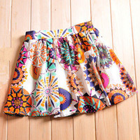 Fashionwoman — Fresh floral girl skirt tutu