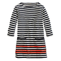 Girls&#x27; stripe pocket tunic - AllProducts - sale - J.Crew