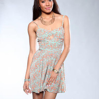 DJPremium.com - Women - Shop by Department - Dresses - Keyhole Print Dress