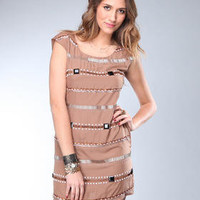 DJPremium.com - Women - Shop by Department - Dresses - Beaded Dress
